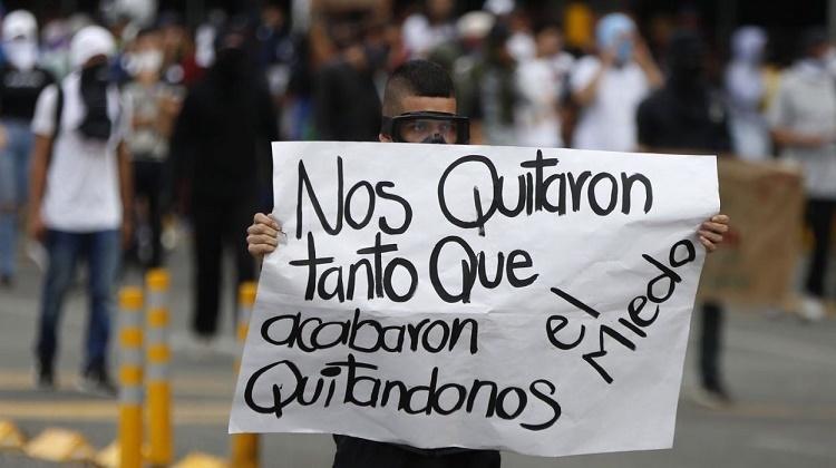 Protestas Colombia 21n