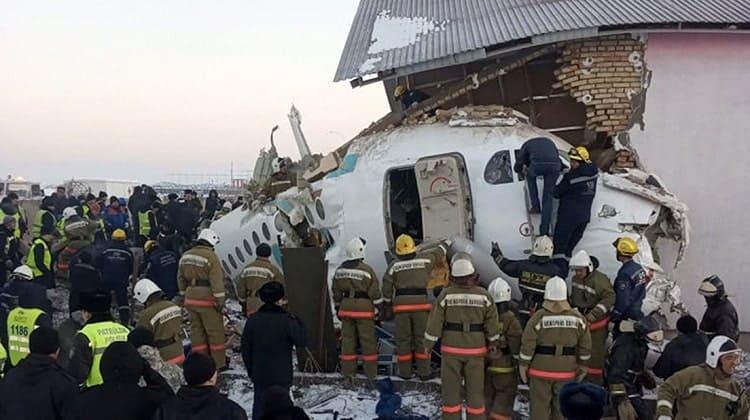 Avión Kazajistán