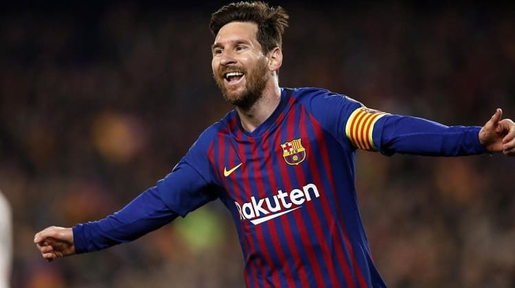 Messi, Barcelona FC