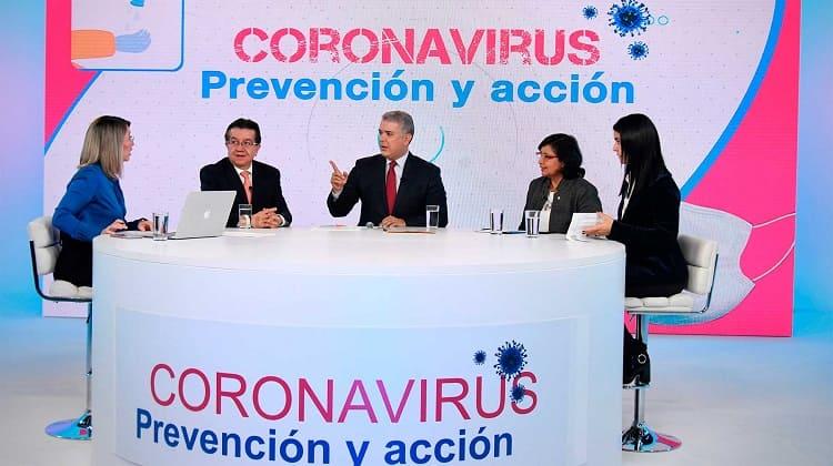 Gobierno Colombiano, Coronavirus prevención y acción