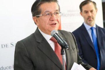 Ministro de Salud Colombia