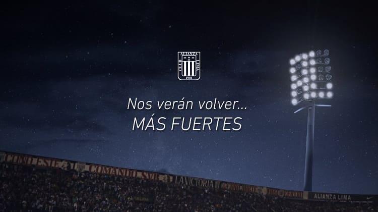 Alianza Lima, desciende y se va a jugar a la B