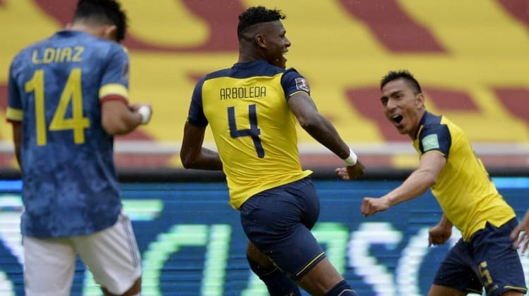 Selección Colombia vs Ecuador 2020