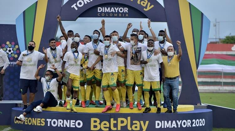 Atlético Huila, campeón del torneo de ascenso