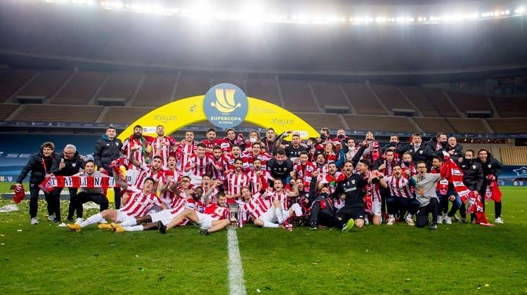 Athletic de Bilbao, campeón de la Supercopa de España