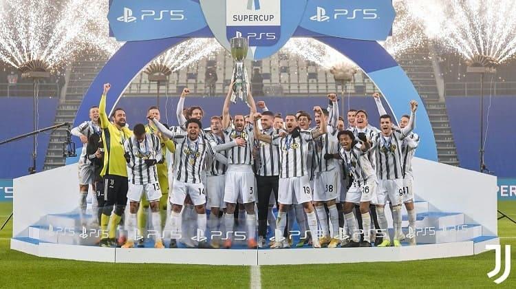 Juventus se quedó con la Supercopa de Italia