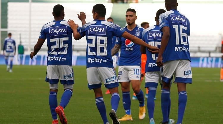 Millonarios derrotó a Envigado en el Estadio Palogrande