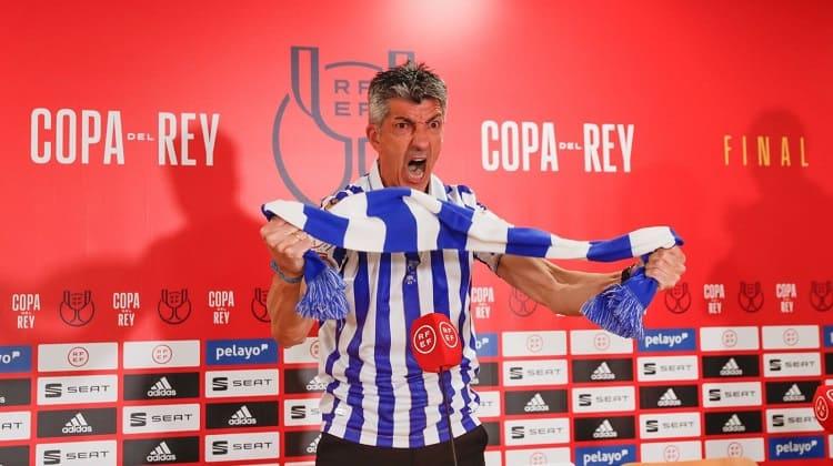 Real Sociedad se coronó campeón de la Copa del Rey